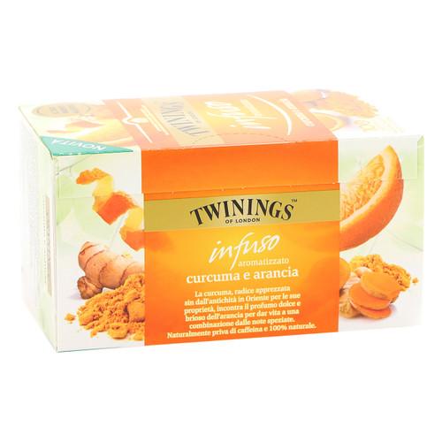 Twinings Infusions 20ff x6 Curcuma e arancia