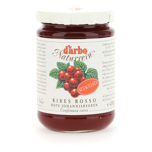 Darbo Confettura Naturrein 450g x6 Ribes rosso setacciata