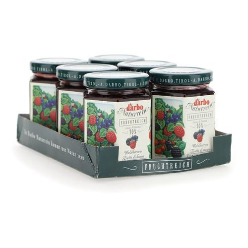 Darbo Confettura ricco di frutta 200g x6 Frutti di bosco