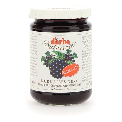Darbo Confettura Naturrein 450g x6 More e Ribes nero setacciata