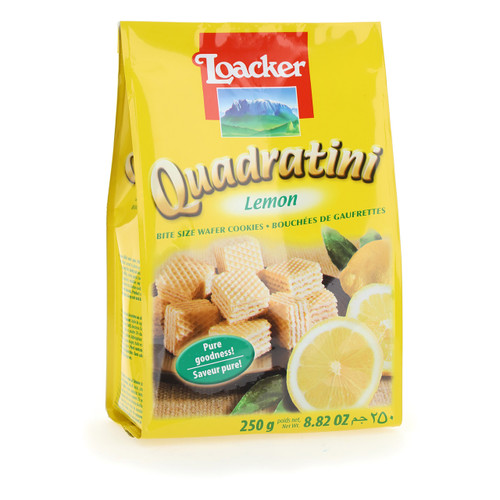 Quadratini Lemon 250gx18 1