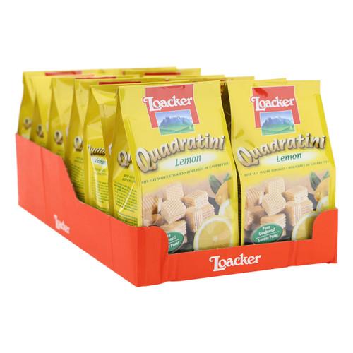 Loacker Quadratini 125gx12 Lemon