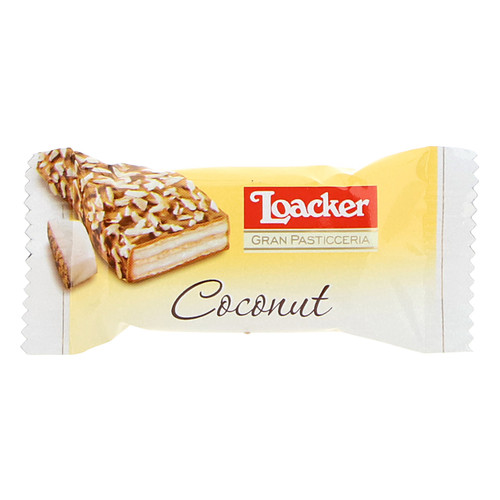 Loacker Patisserie 8,3gx350 Coconut