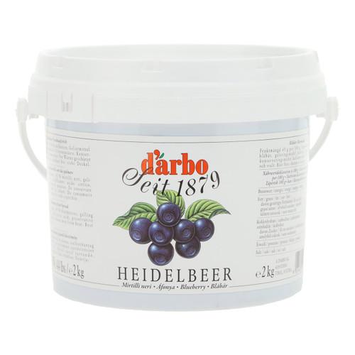 Darbo Confettura Crema Spalmabile 2kg Mirtilli Neri