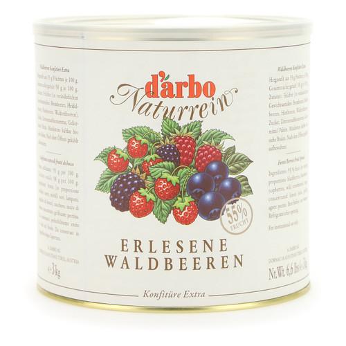 Darbo Confettura Naturrein 3kg Frutti di Bosco