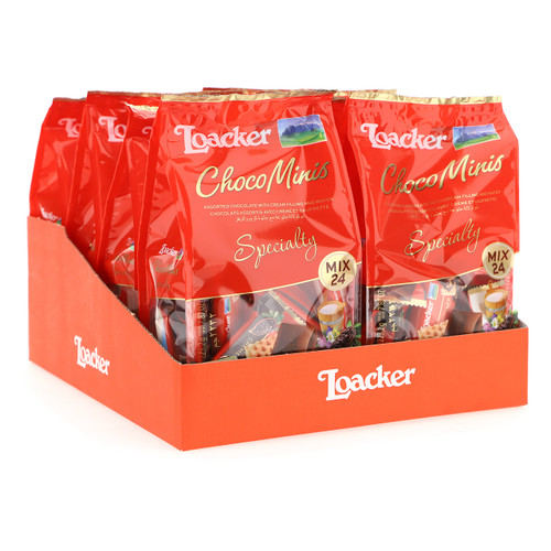 Loacker Choco Minis Specialty 223,2gx8 Mix
