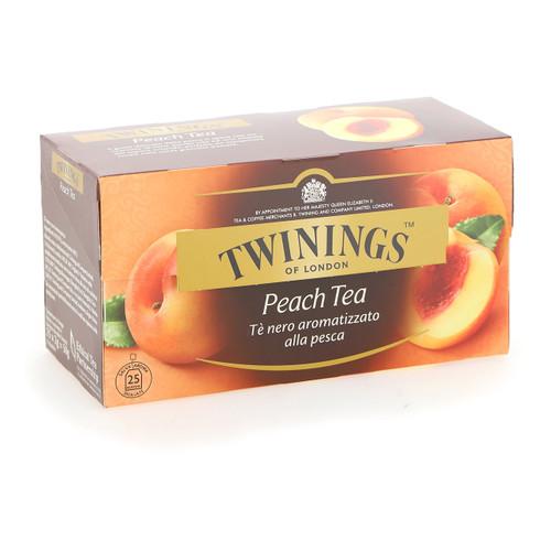 Twinings Te nero Fruttato 25ff x12 Pesca