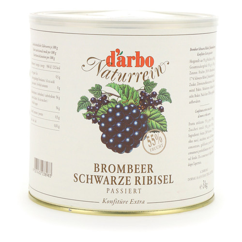 Darbo Confettura Naturrein 3kg More e Ribes nero