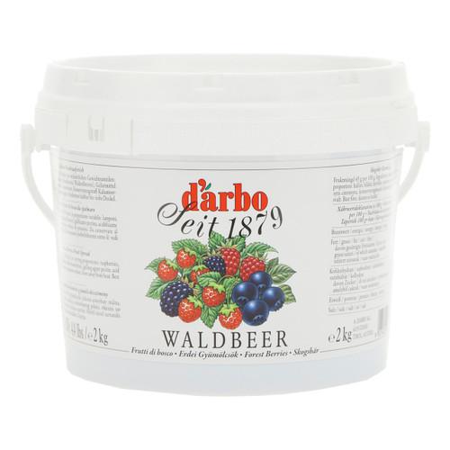 Darbo Confettura Crema Spalmabile 2kg Frutti di Bosco