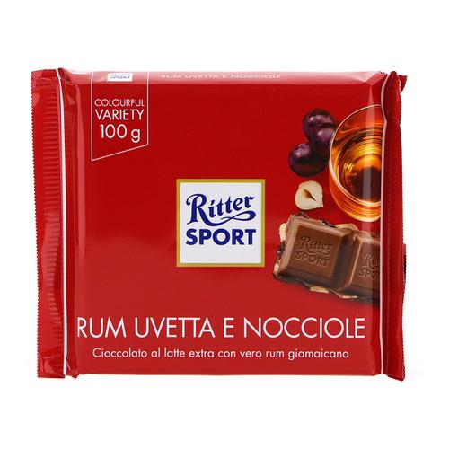 Ritter Sport 100gx12 Rum Uva Nocciola