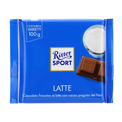 Ritter Sport 100gx12 Latte Extra 35% Cacao