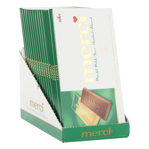 Storck Merci 100gx15 Mandorle Latte Nocciola
