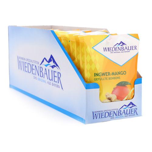 Wiedenbauer Bonbon 100gx20 Zenzero Mango