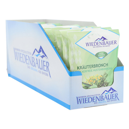 Wiedenbauer Caramelle 75gx20 Balsamiche senza zucchero