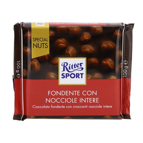 Ritter Sport Special Nuts 100gx10 Fondente Nocciole intere