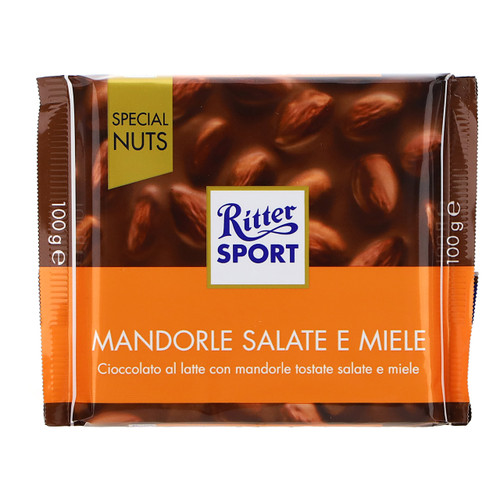 Ritter Sport Special Nuts 100gx11 Mandorle salate e miele