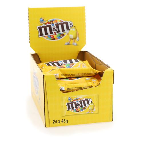Mars M + M's 45gr x24 Arachidi