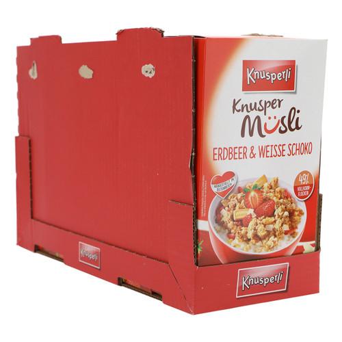 Bioquelle Knusperli Muesli 600gx5 Fragola e Cioccolato bianco