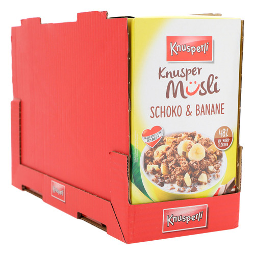 Bioquelle Knusperli Muesli 600gx5 Banana e Cioccolato