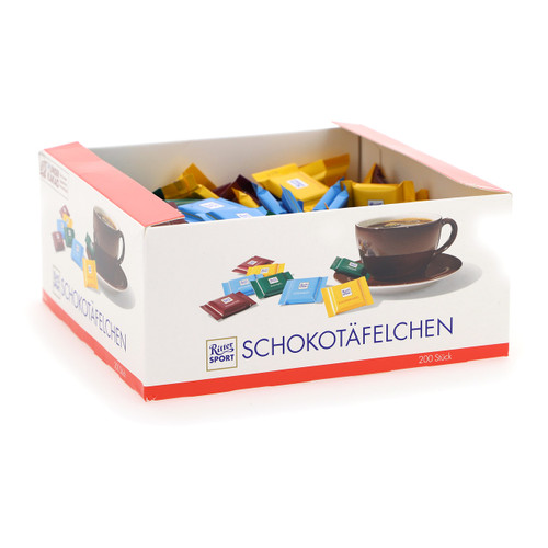 Ritter Sport Quadretties 1000gx1 assortito