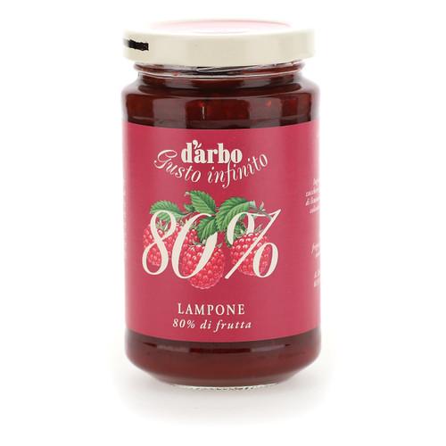 Darbo Confettura ricco di frutta 80% 250g x6 Lamponi