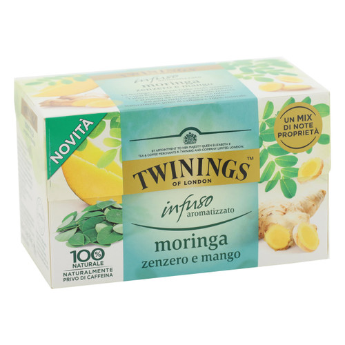 Twinings Infusions 20ff x6 Moringa, Zenzero e Mango