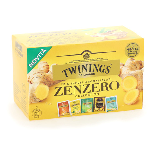 Twinings Infusions 20ff x8 Zenzero Collection