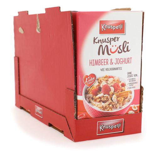 Bioquelle Knusperli Muesli 525gx5 Lampone e Yogurt
