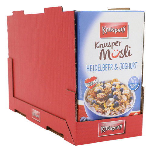 Bioquelle Knusperli Muesli 525gx5 Mirtillo e Yogurt