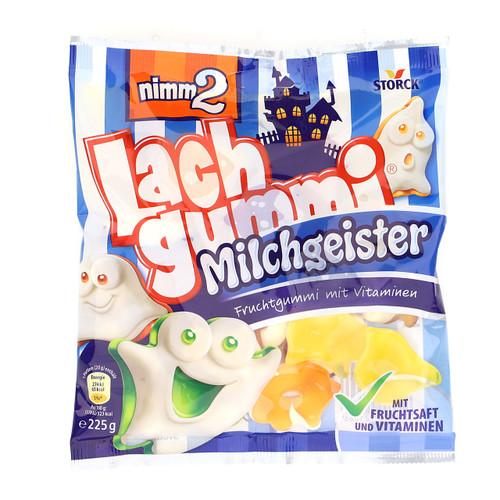 Storck Nimm2 Lachgummi 225gx12 Milchgeister
