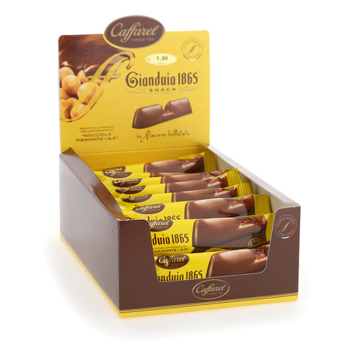Caffarel 25gx48 Snack Gianduia