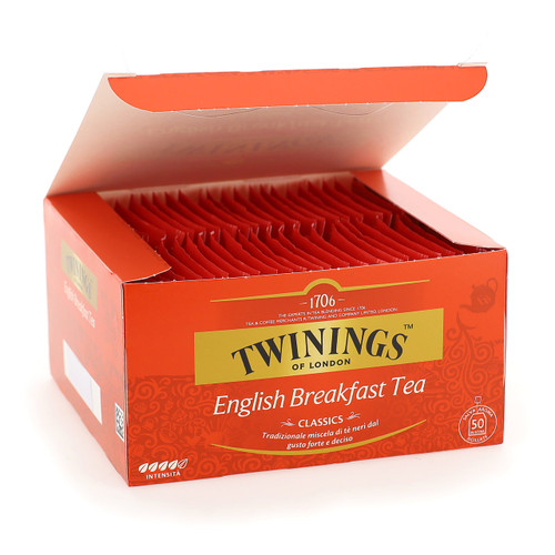 Twinings Classic Tea 50ff x10 English Breakfast