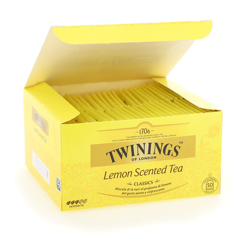 Twinings Classic Tea 50ff x10 Lemon Scented