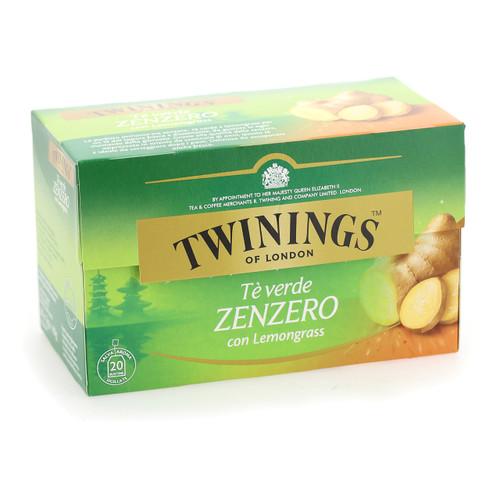 Twinings Te verde 20ff x12 Zenzero