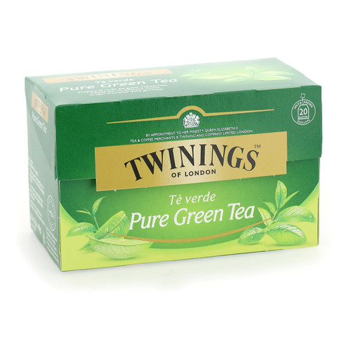 Twinings Te verde 20ff x12 Pure Green Tea