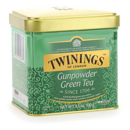 Twinings Te verde 100g x6 Gunpowder sfuso latta