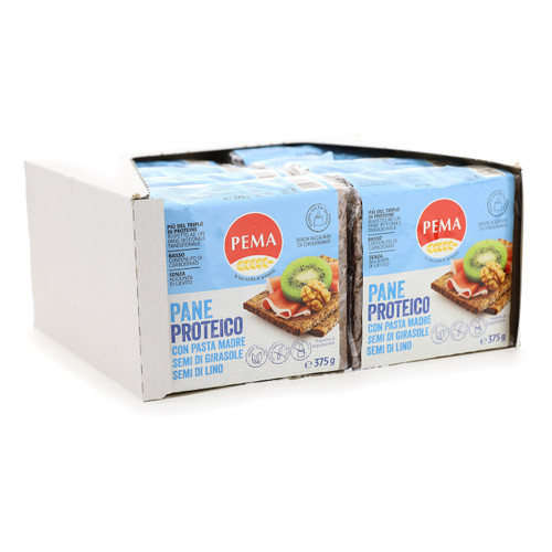 Pema pane proteico 375gx16