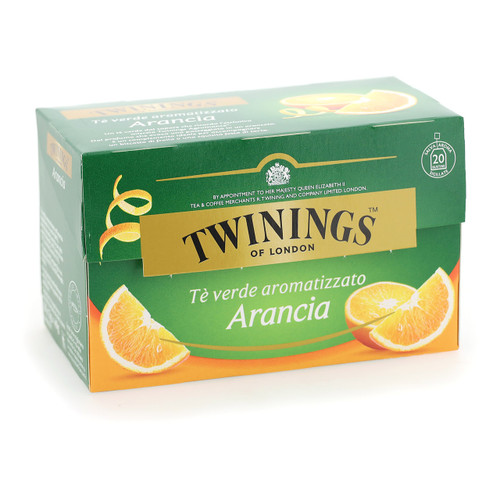 Twinings Te verde 20ff x12 Green Orange