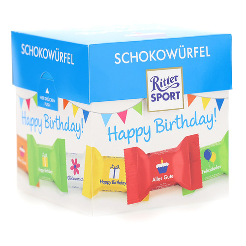 Ritter Cioccolatini 176gx8 Happy Birthday