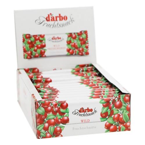 Darbo Barretta alla frutta 40g x15 Mirtilli rossi