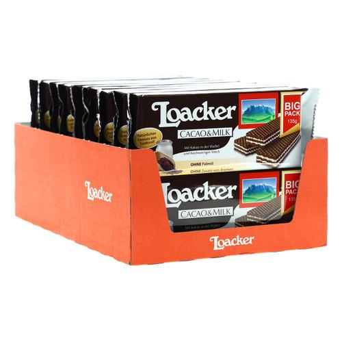 Loacker Classic 135gx18 Cacao+Milk