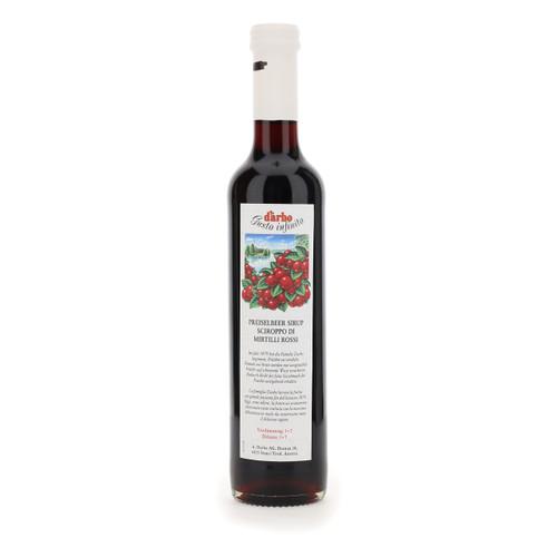 Darbo Sciroppo 500ml x6 Mirtilli rossi