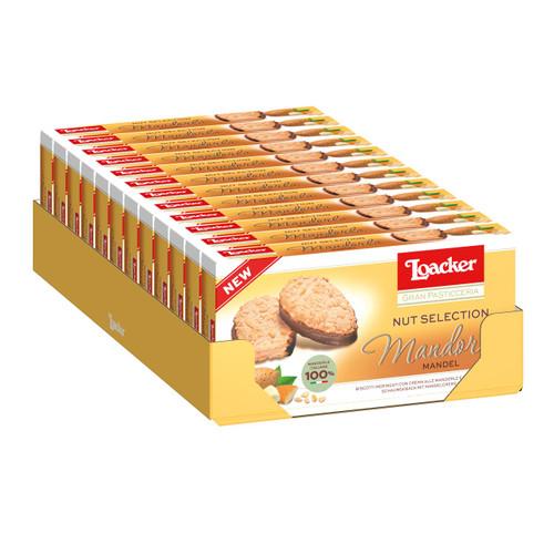 Loacker Gran Pasticceria Nut Selection 100gx12 Mandorla
