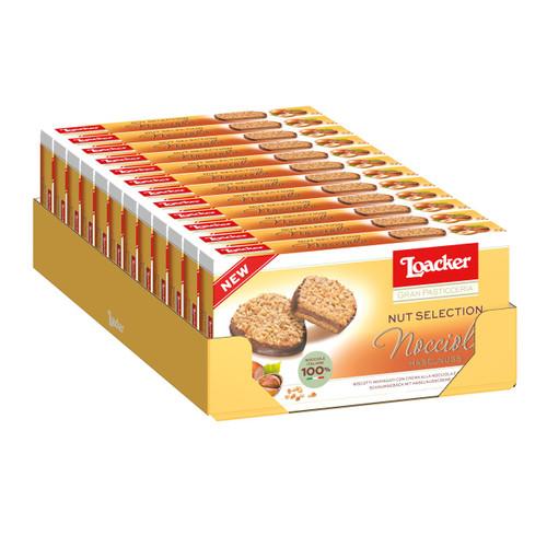Loacker Gran Pasticceria Nut Selection 100gx12 Nocciola
