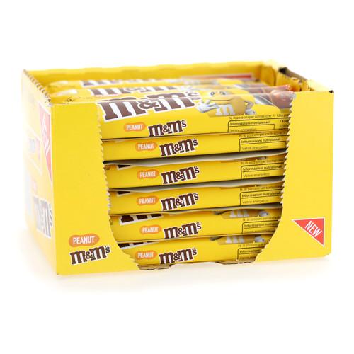 Mars M+M's Mini Tavoletta 34gx24 Arachidi