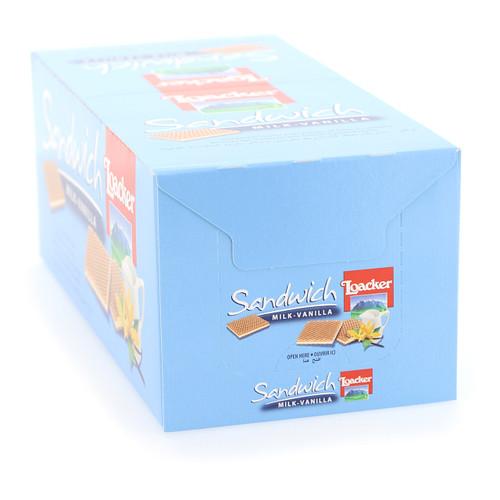 Loacker Sandwich 25gx25x6 Milk-Vanilla