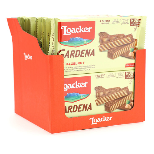 Loacker Gardena 136gx20 Hazelnut IT/DE