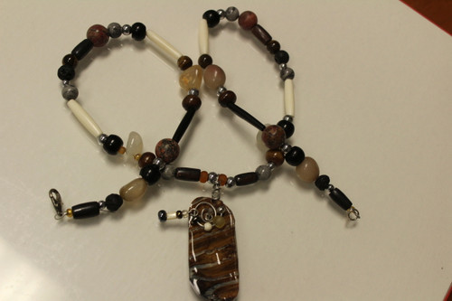 Mammoth Tooth NECKLACE Fossil MJ2