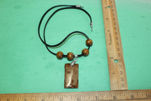 Mammoth Tusk Necklace Pendent Jewelry Fossil