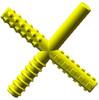 Chew Stixx Multi Texture Chewable Fidget-7 flavors - Lemon